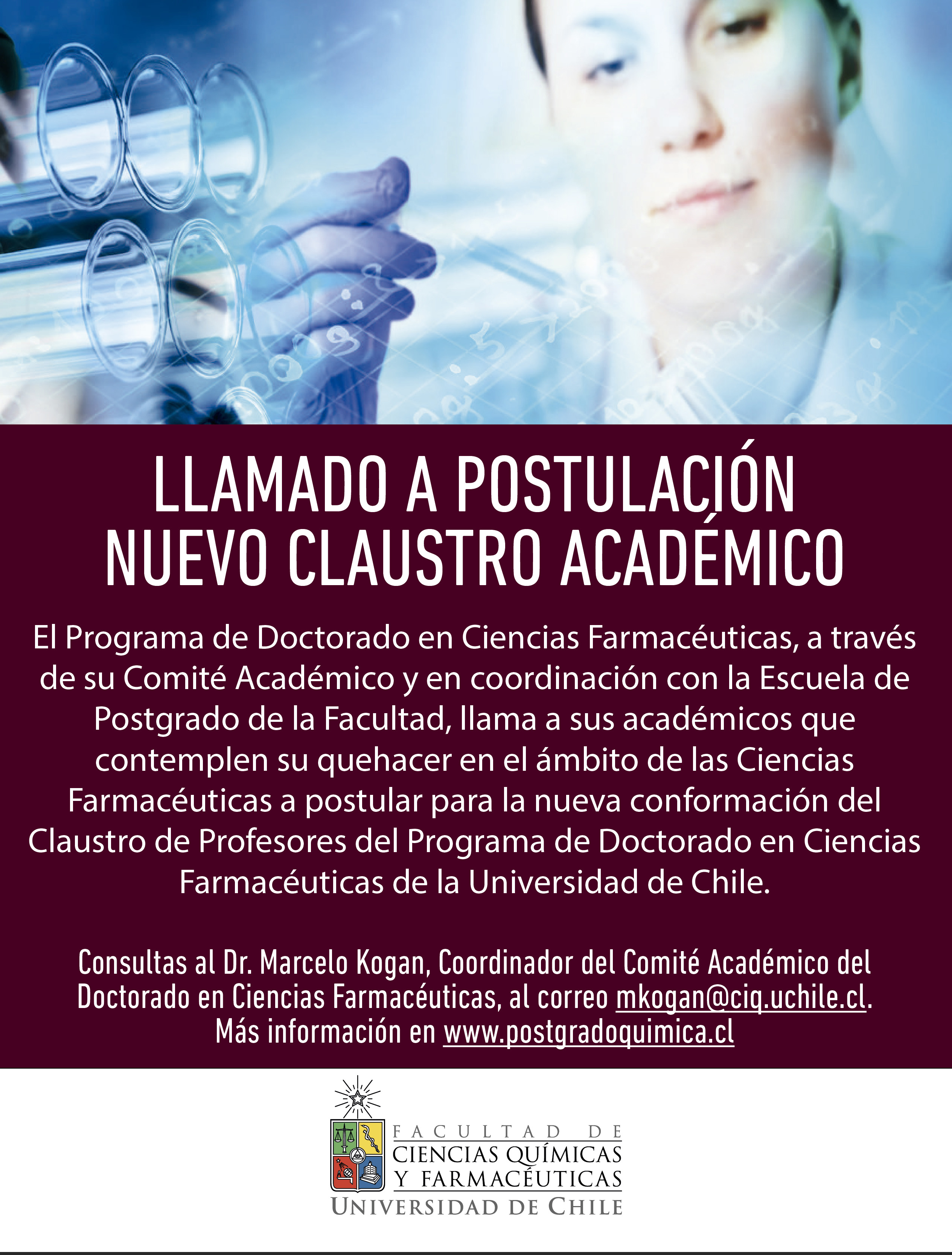 Renovación Claustro Académico Doc. Cs Farmacéuticas